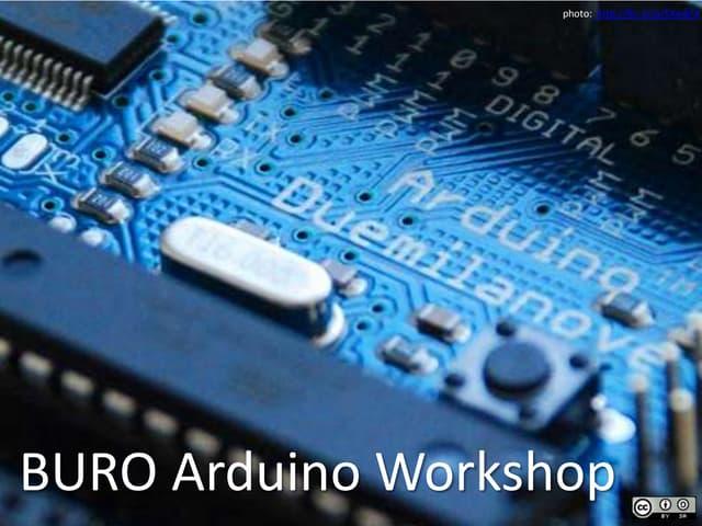 BURO Arduino Workshop