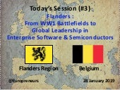 Burton Lee - Session #3 - Flanders :: From WW1 to Global Leadership in Enterprise Software & Semiconductors - Stanford - 28 Jan 2019