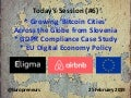 Burton Lee - Session #6 Intro - Bitcoin Cities | GDPR & Stasi Files - Stanford - 25 Feb 2019