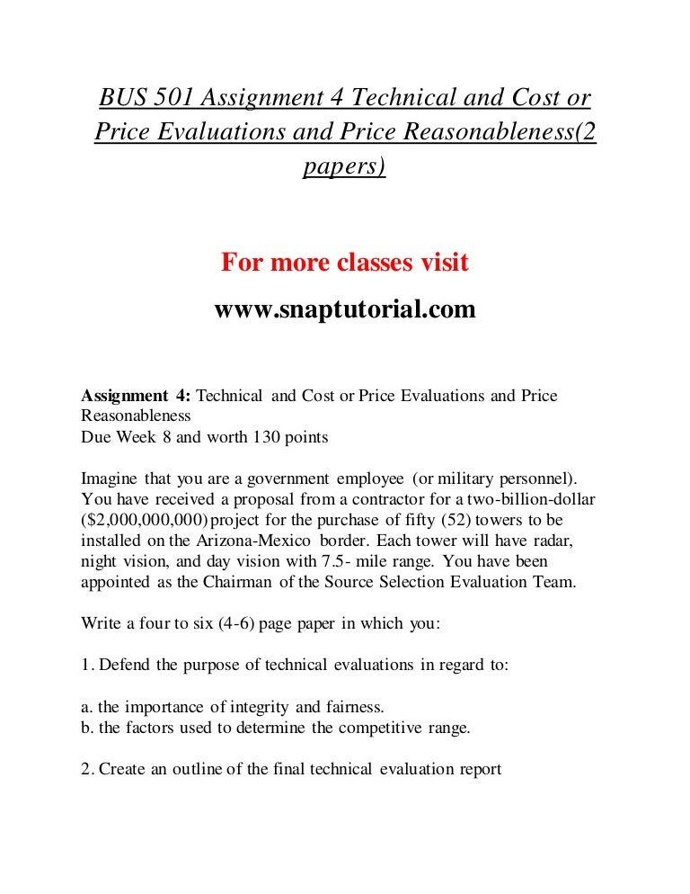 Bus 501 Enhance teaching / snaptutorial com