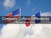 Company culture difference between France & USA
