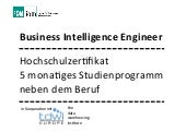 Business Intelligence Engineer