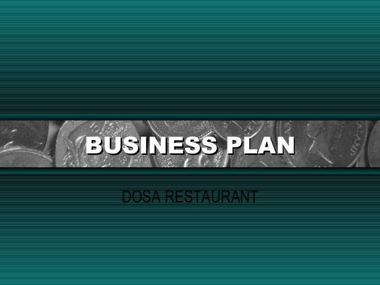 Hotel and restaurant business plan
