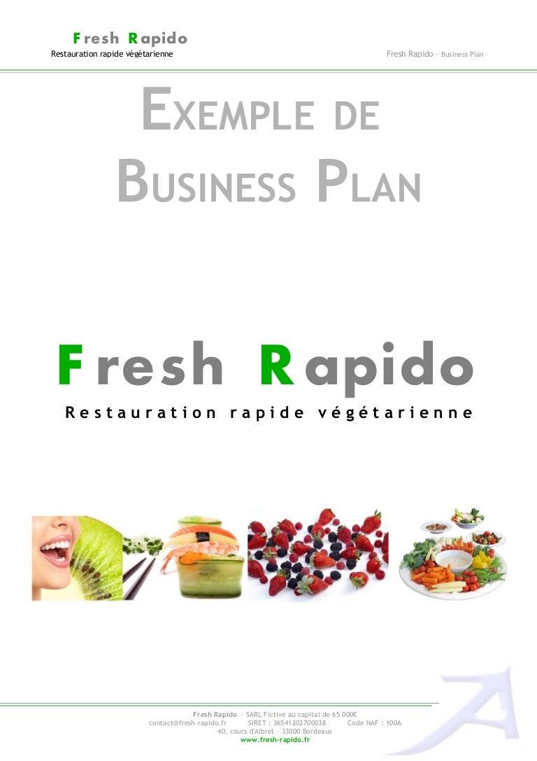restaurant business plan doc