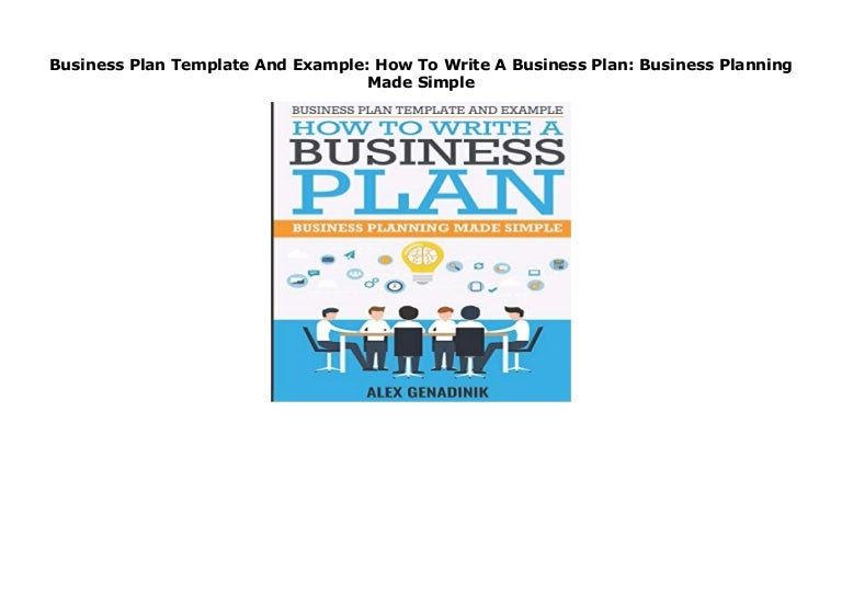 2. Determine the purpose of your plan.