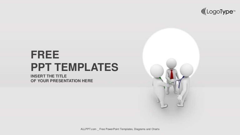 Business team joining hands ppt templates widescreen wajeb Images