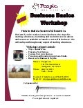 Business Basics Workshop - Abingdon July 24, 2012 9am - Noon NO COST