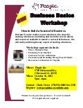 Business Basics Workshop Clintwood October 16, 2012 5pm - 8pm No Cost