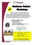 Business Basics Workshop Smyth County December 8, 2011 1pm-4pm