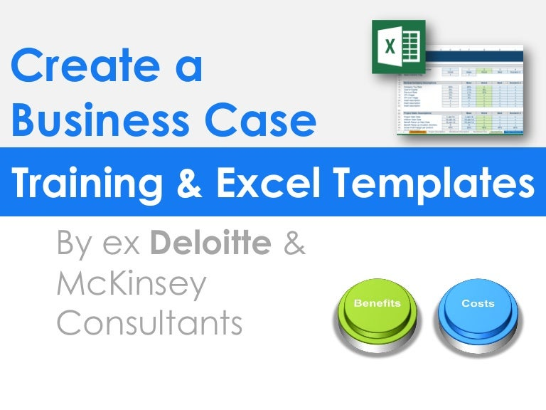 Simple business case template by ex mckinsey consultants wajeb
