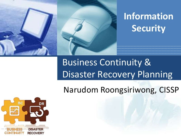 Business continuity & disaster recovery planning (BCP & DRP)