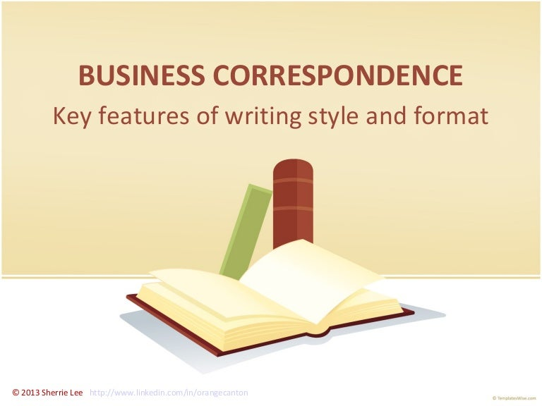 agency correspondence in business communication