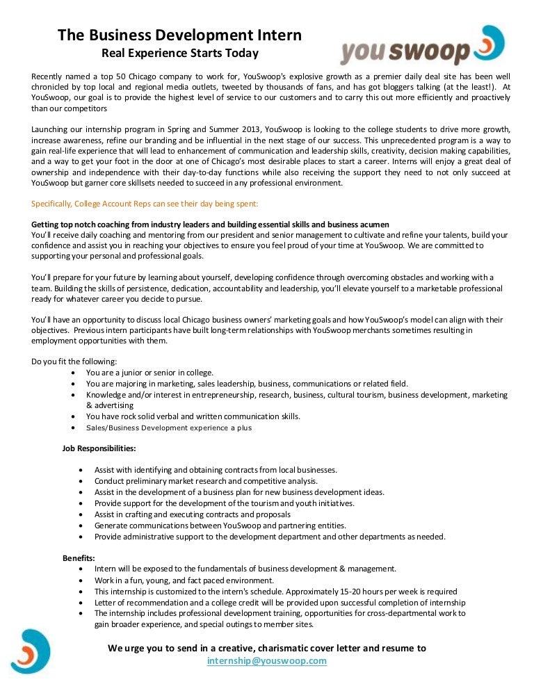 write resume counseling internship
