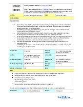 Business Development Manager Job Description Template by Bayt.com
