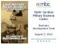Business Dev Tools, NCMBC