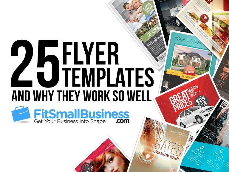 Top Flyer Templates For Small Businesses - Business advertising flyers templates free