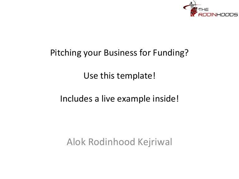 Business Funding Proposal Template from cdn.slidesharecdn.com