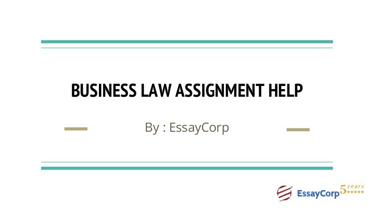 business law essays