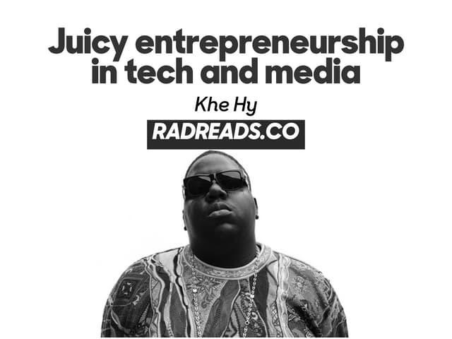 What hip-hop can teach us about entrepreneurship