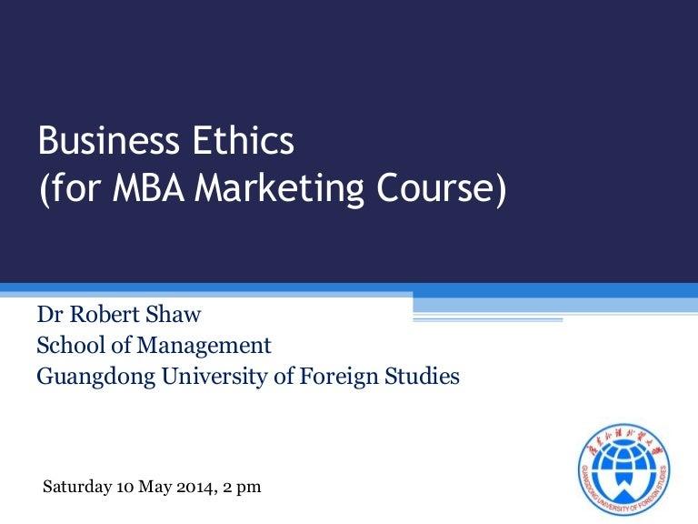 Business marketing ethics for mba china fandeluxe Choice Image