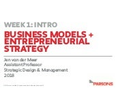 Business models week 1