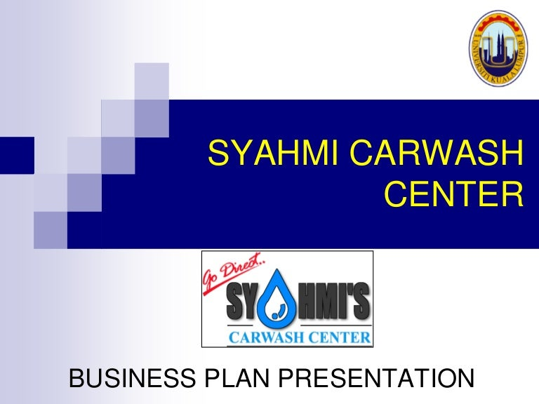 business plan car wash in malaysia ringgit
