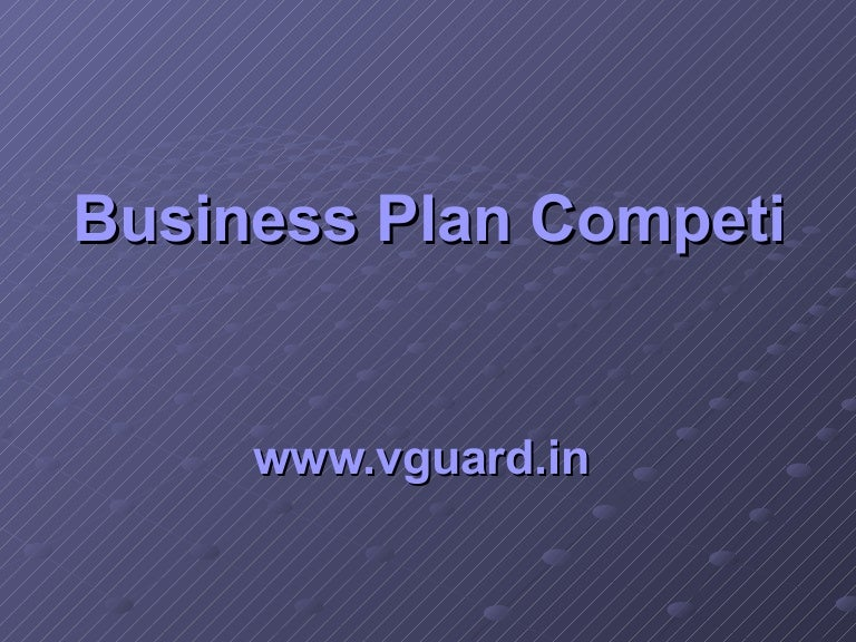 Business Plan Competition