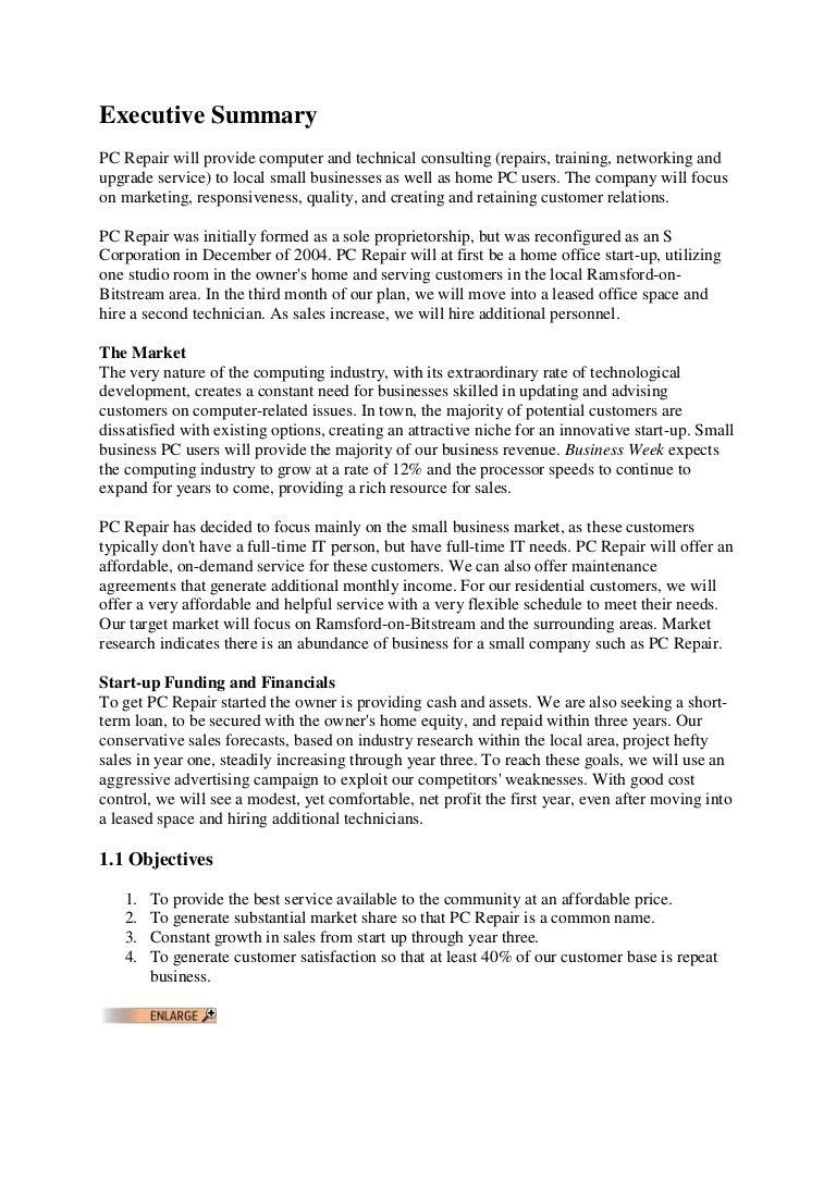 Business plan computer sales company custom argumentative essay proofreading sites