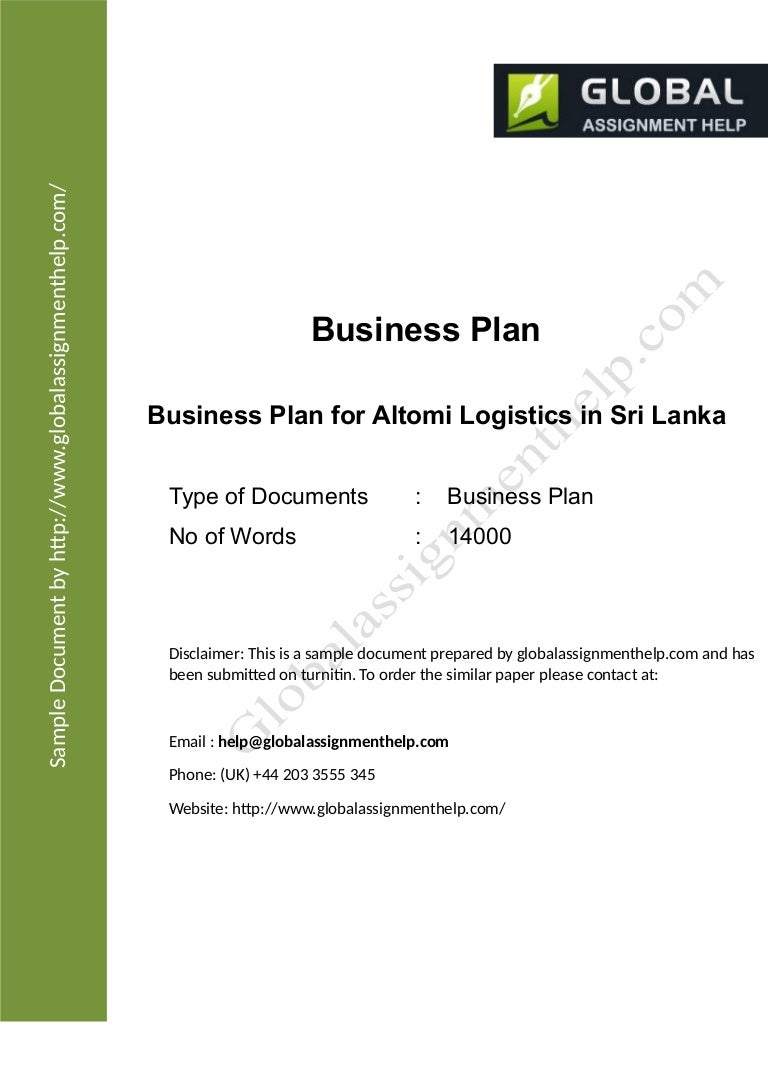 business plan layout template