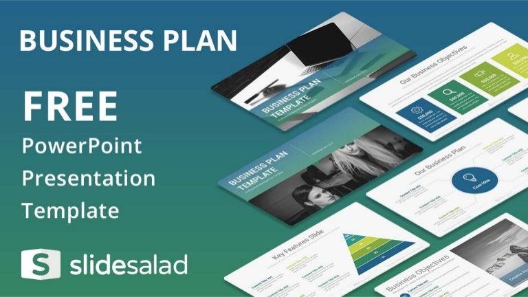 Business plan free presentation design for powerpoint flashek Images