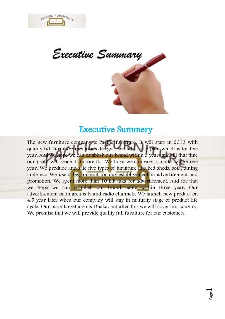 sample of businessplan