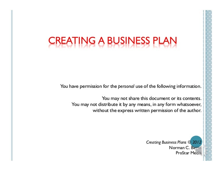 Content Marketing Framework, Plan