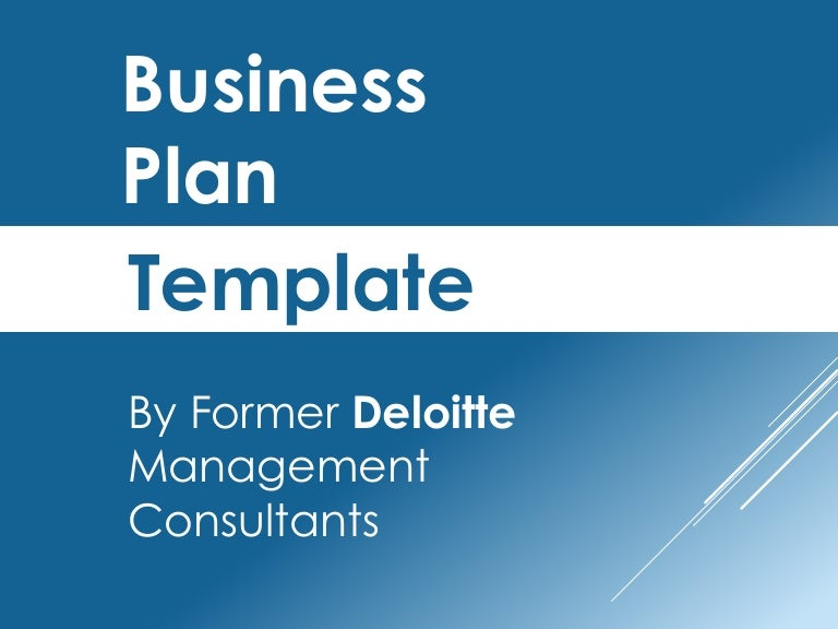 Management Consulting Business Plan
