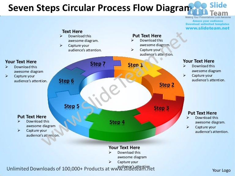 process flow powerpoint template