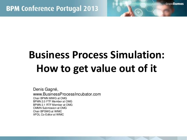 business process simulation how to get value out of it bpm portuga - Bpmn Simulation