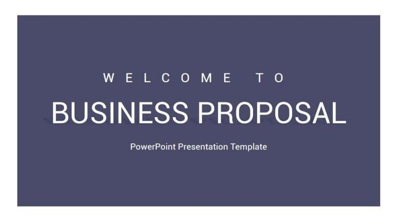 business proposal powerpoint presentation template - slidesalad, Powerpoint templates