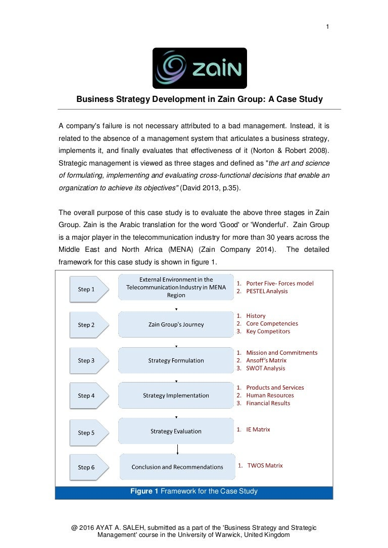 case study strategy and international business A case study analysis of e-commerce strategies for retail iacis 2001 203 a customer centric model is the key to an effective business model and an e-commerce strategy.