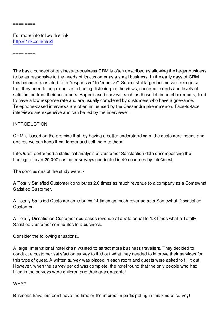 cover letter for customer satisfaction survey