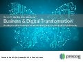 The 2016 Essential Statistics to Business and Digital Transformation
