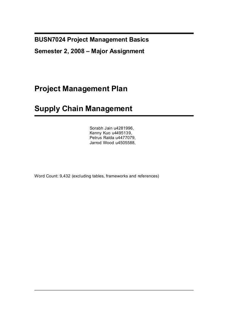busn project management plan example