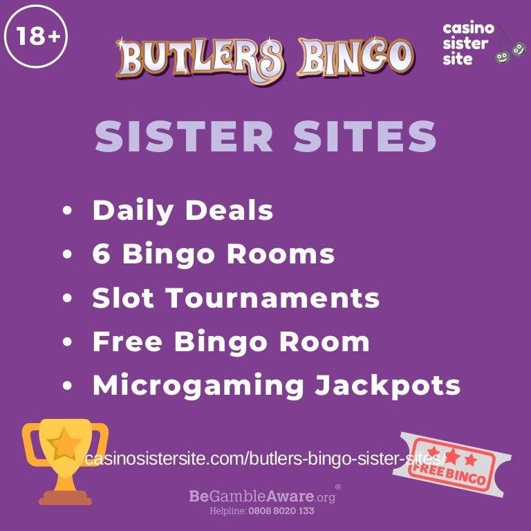 Butlers Bingo Partner Sites Free Bingo Rooms Daily Free Spins