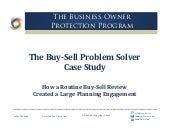 InKnowVision March 2014 Buy-Sell Problem Solver Case Study
