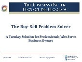 InKnowVision May 2014 Buy-Sell Problem Solver PPT