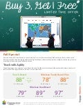 Buy3  get1free Interactive Whiteboard Special