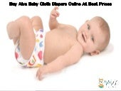 Buy Alva Baby Cloth Diapers Online At Best Prices