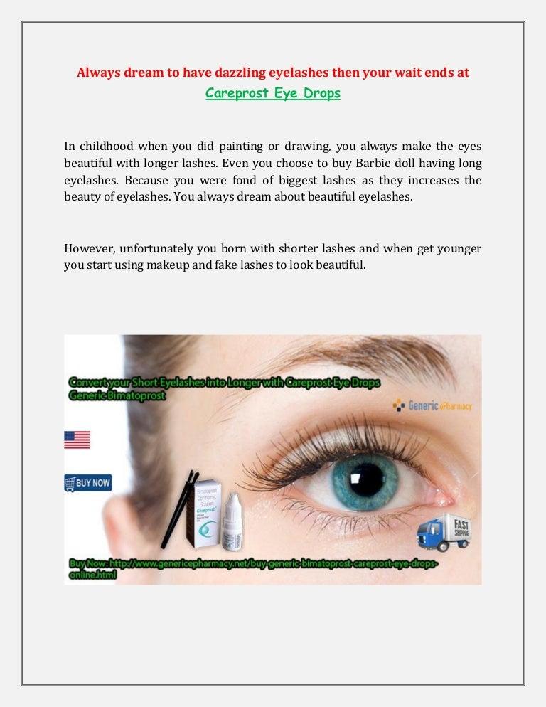 Bimatoprost Generic - Bimatoprost Eye Drops 0.03, 3 ML