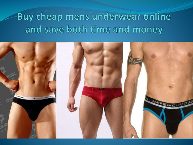 Buy Cheap Mens Underwear Online and Save both time and money