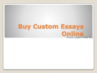 Chronological order essay papers