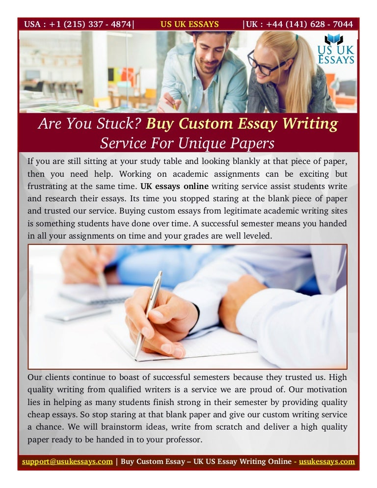 buy custom essay writing service for unique papers
