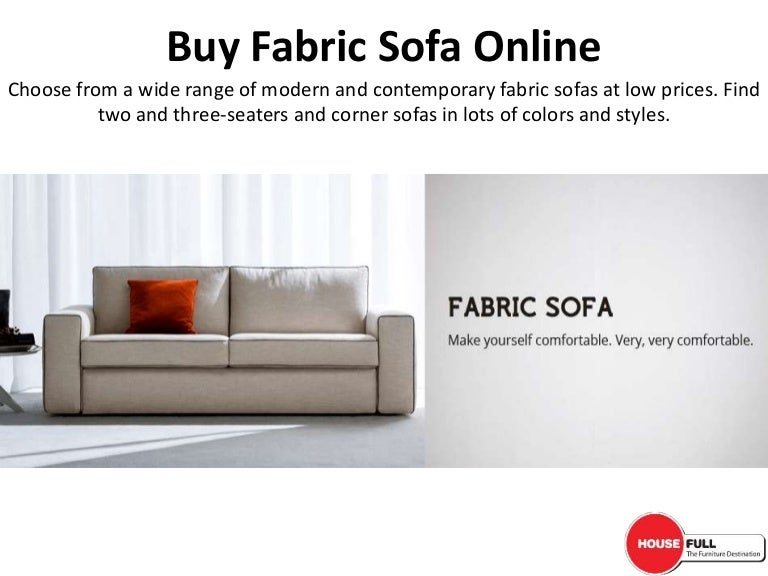 buy fabric sofa set online in india at housefull co in